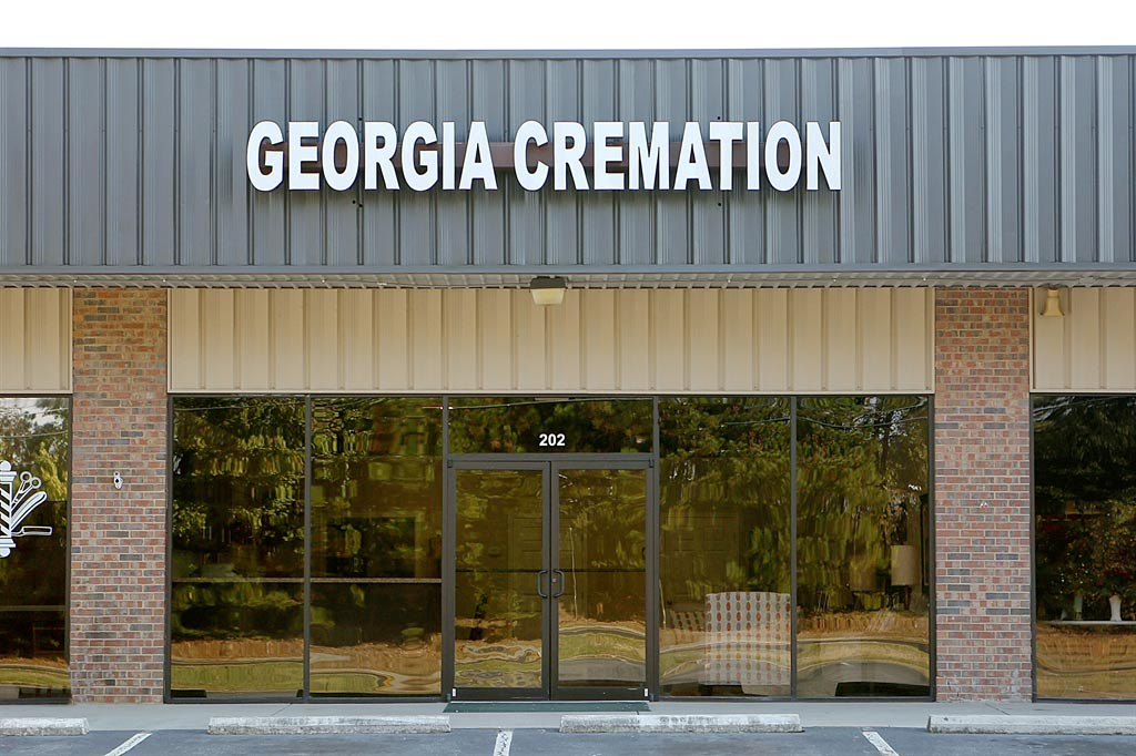 Georgia Cremation building exterior