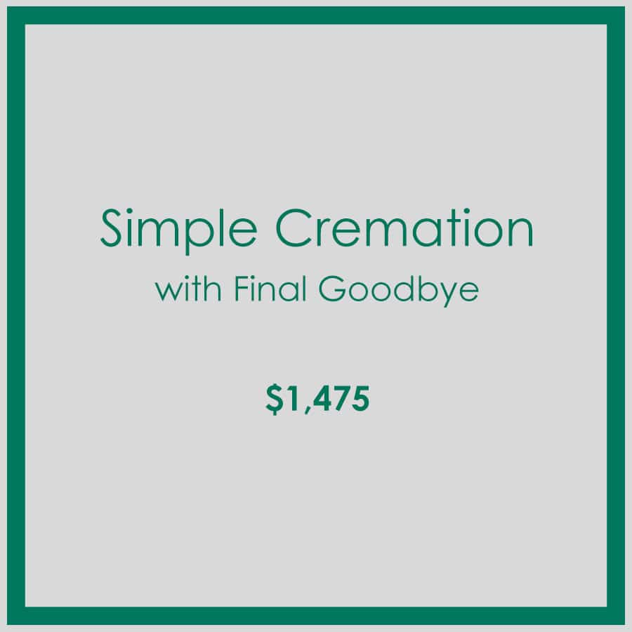 Georgia Simple Cremation with Final Goodbye