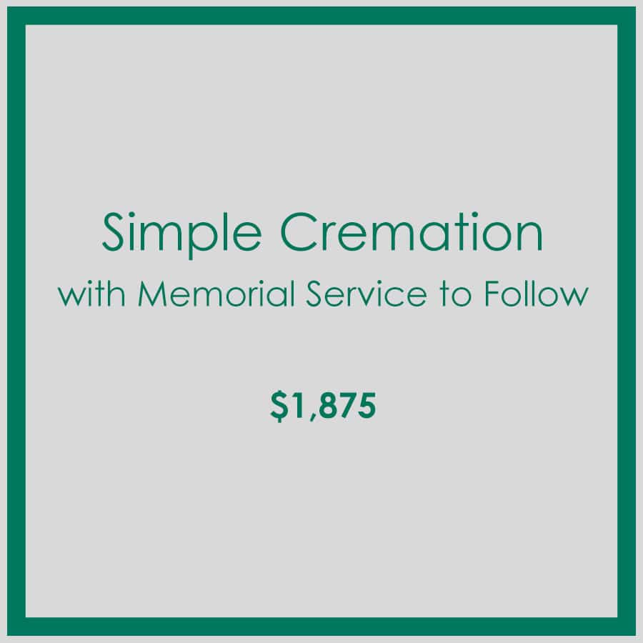 Georgia Simple Cremation with Memorial Service to Follow