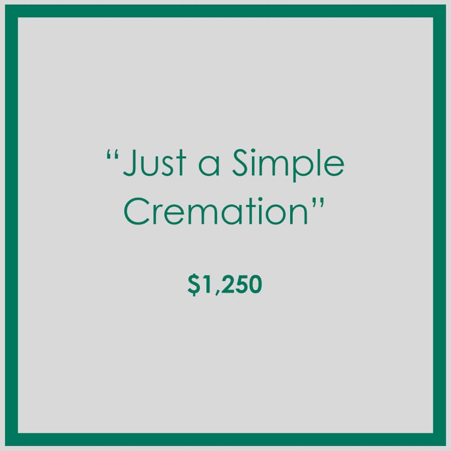 Just a Simple Cremation at Georgia Cremation