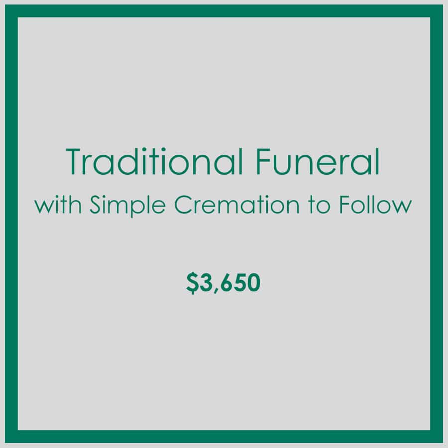 Georgia Traditional Funeral with Simple Cremation