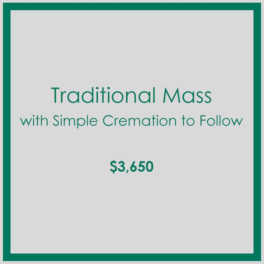 Georgia Traditional Mass with Simple Cremation to Follow