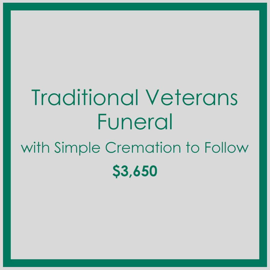 Georgia Traditional Veterans Funeral with Simple Cremation