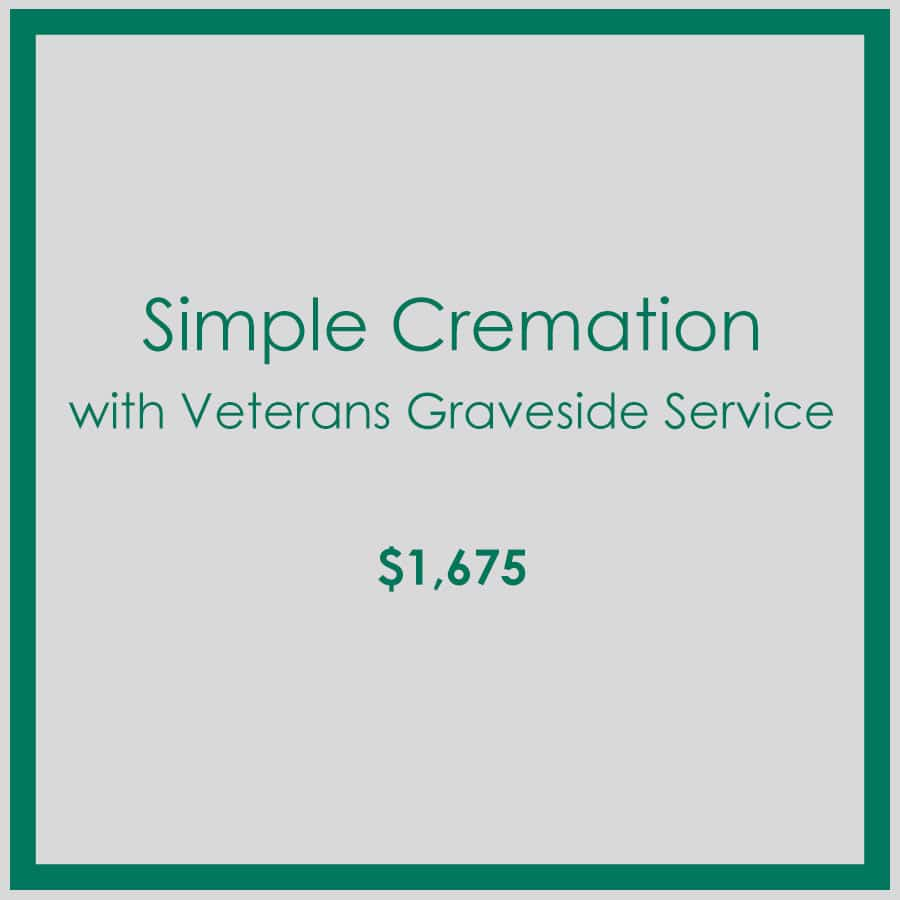 Georgia Simple Cremation with Veterans Graveside Service