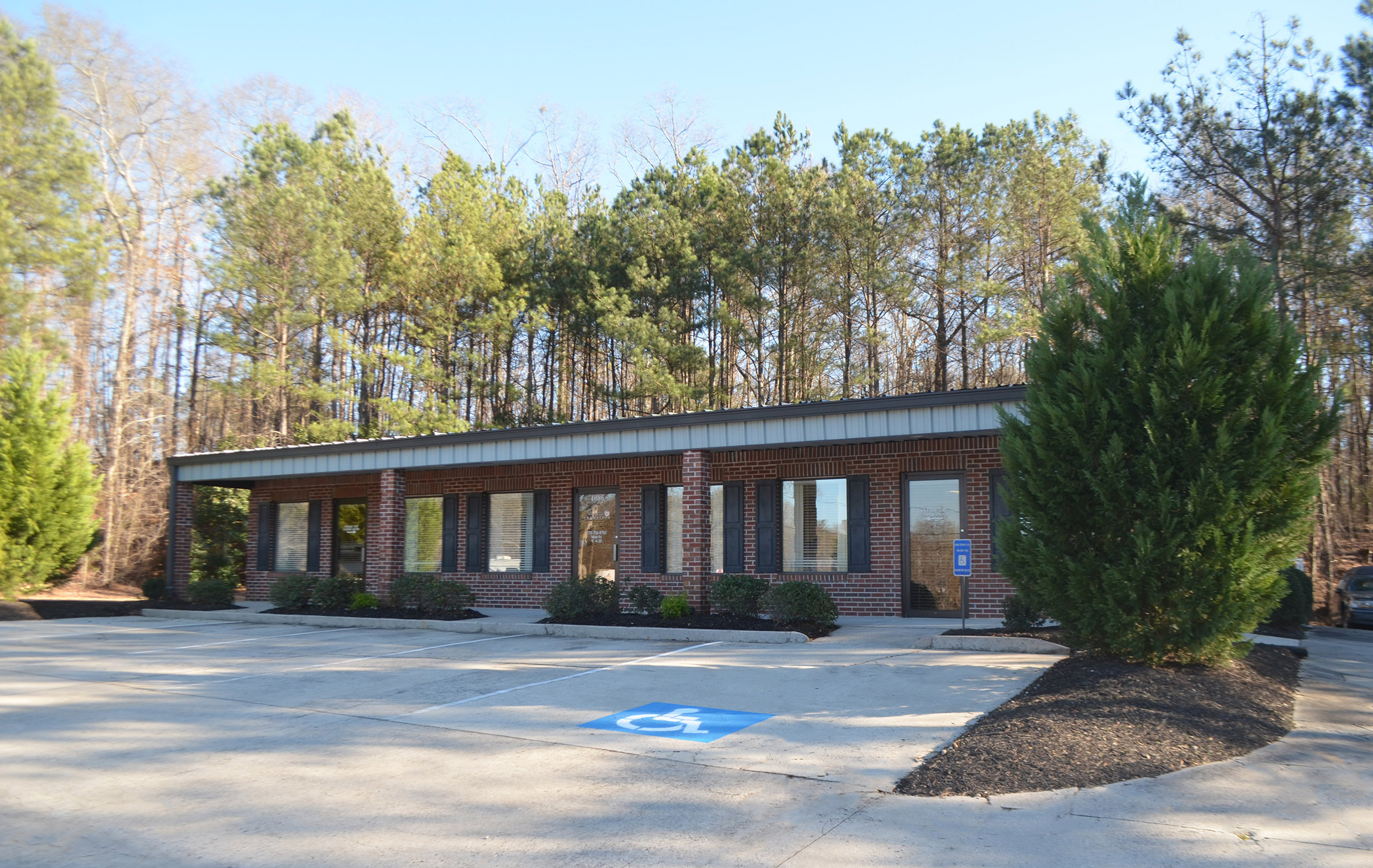 Georgia Cremation building in Fayetteville, GA