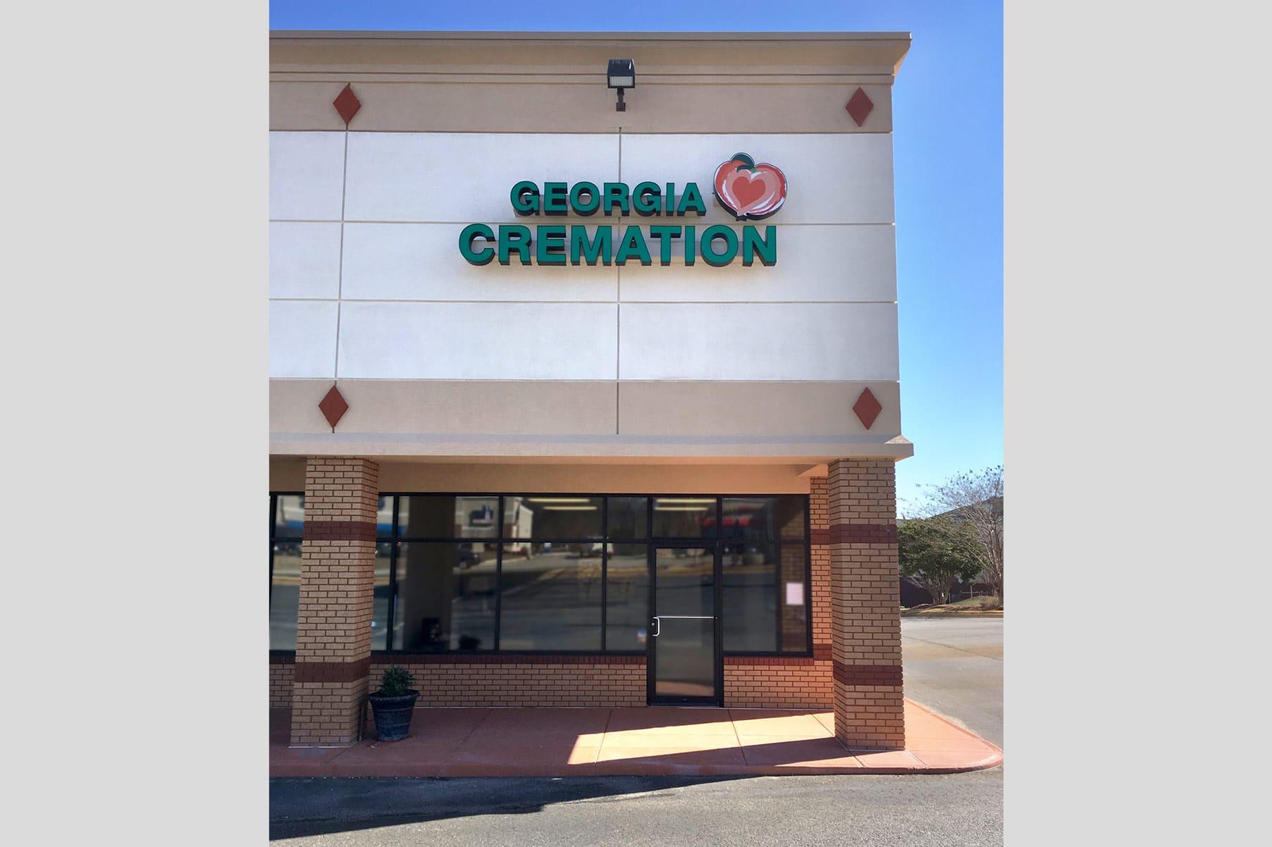 Georgia Cremation's building in Columbus, GA