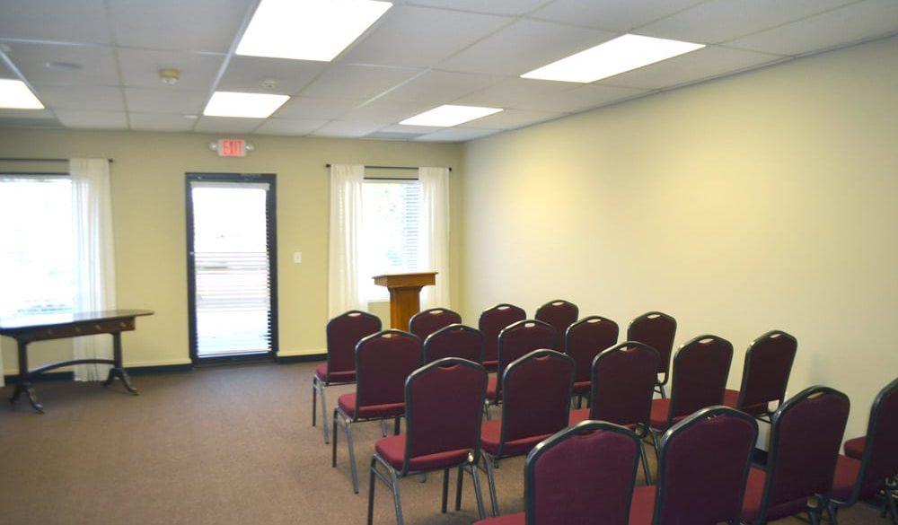 Service chapel in Fayetteville, Georgia